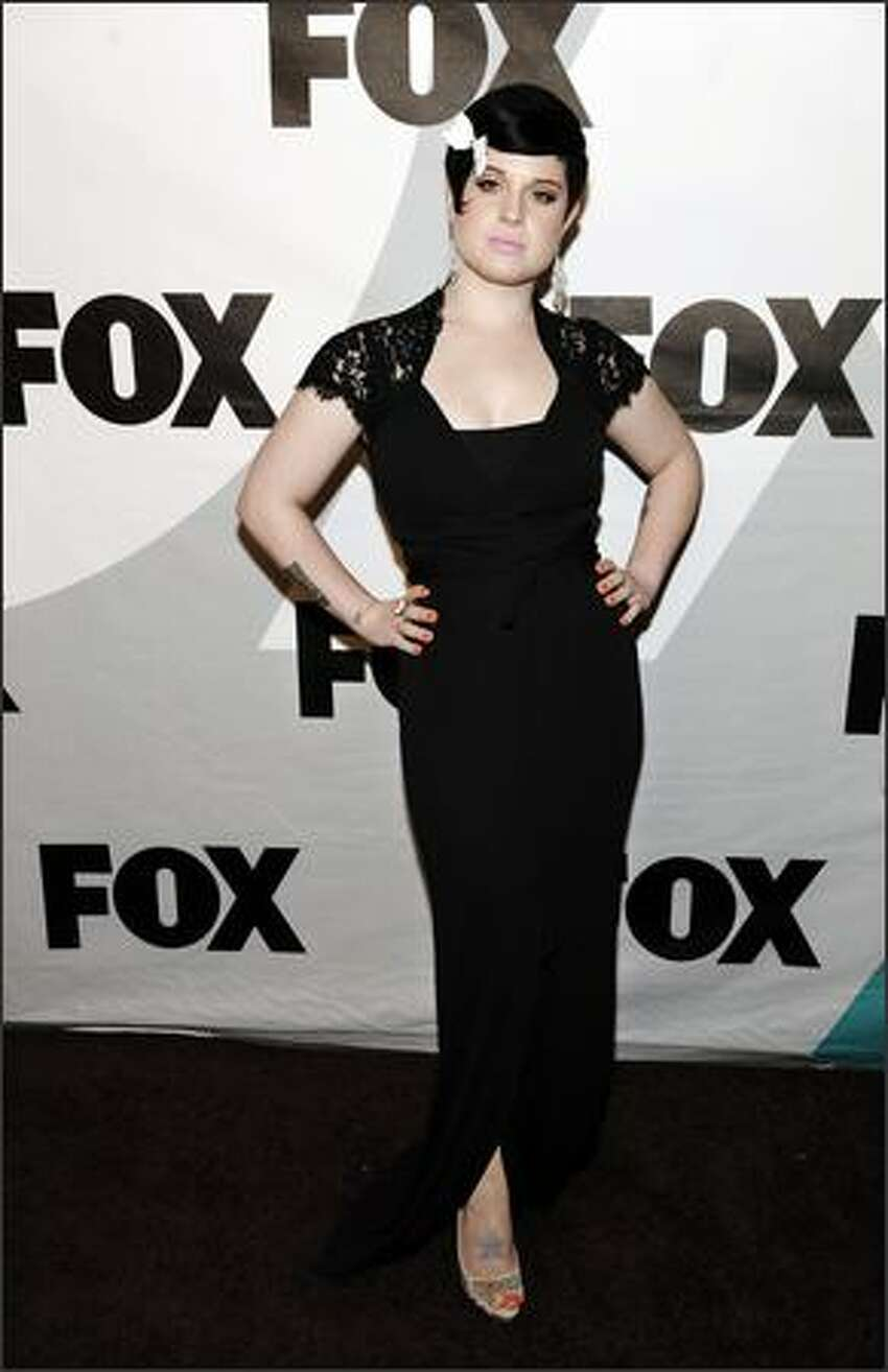 Kelly Osbourne, a cast member in the television series