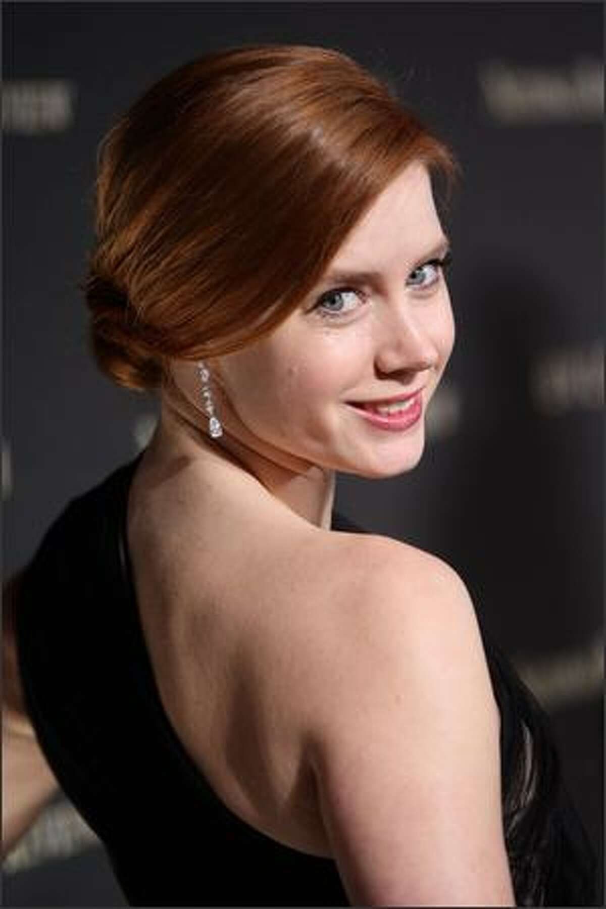 Actress Amy Adams attends.
