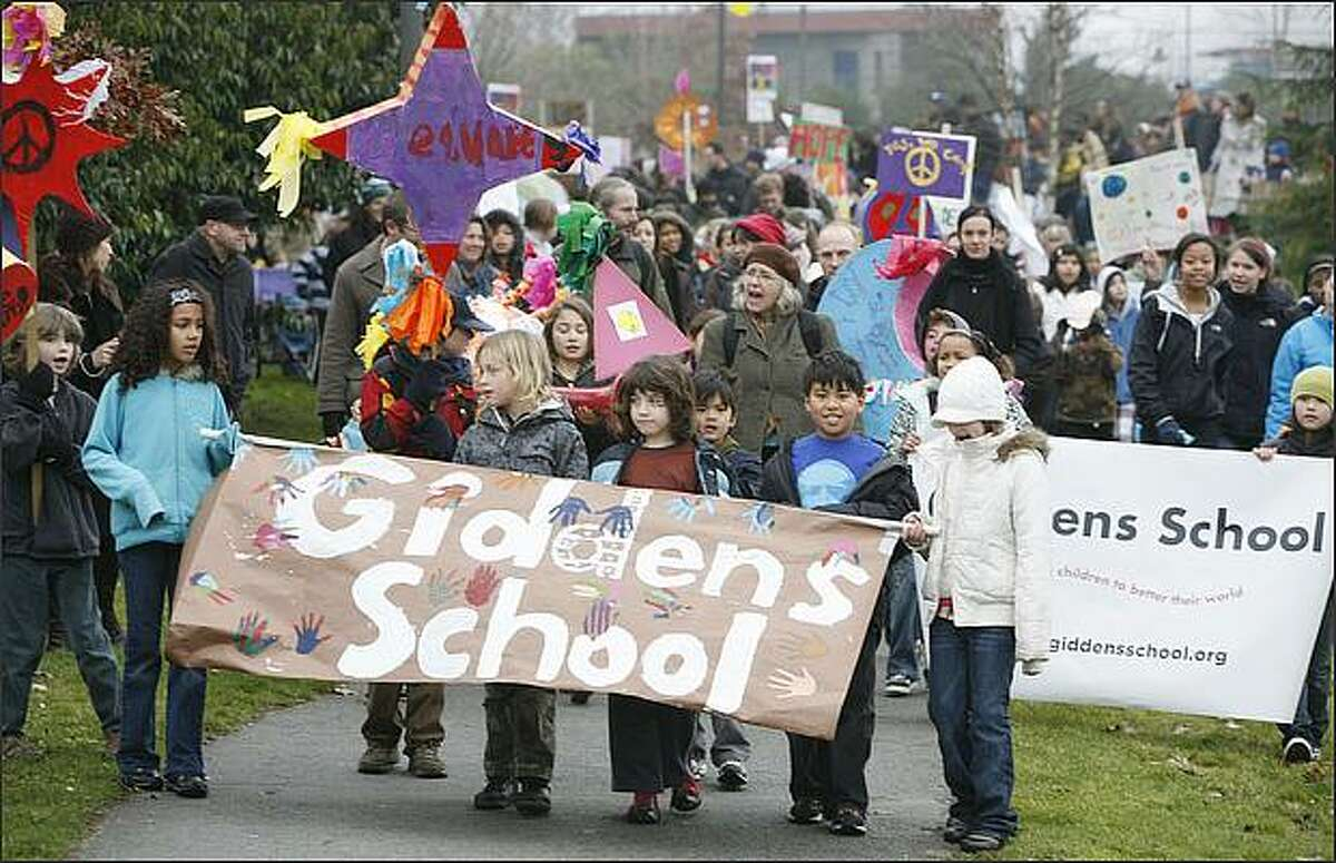 61. Giddens School -- P-5 -- Of the 50 kindergarteners at this Seattle school, 100 percent had been fully vaccinated.