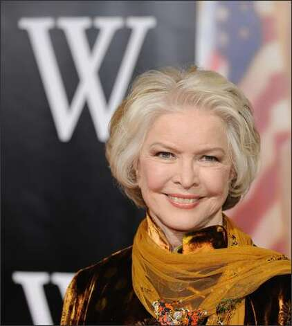 "Ellen Burstyn at the premiere of the 2008 movie ""W.,"" in which she played Barbara Bush.  Photo: Getty Images"