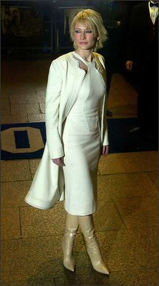 """Blanchett arrives for the premiere of """"The Lord of the Rings: The Two Towers"""" Dec. 11, 2002 in London. Photo: Getty Images"""