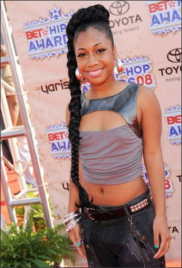 Tiffany Edwards attends the 2008 BET Hip-Hop Awards at The Boisfeuillet Jones Atlanta Civic Center on Saturday in Atlanta, Georgia. Photo: Getty Images