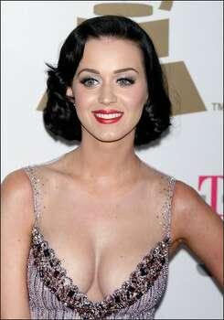 Singer Katy Perry arrives. Photo: Getty Images
