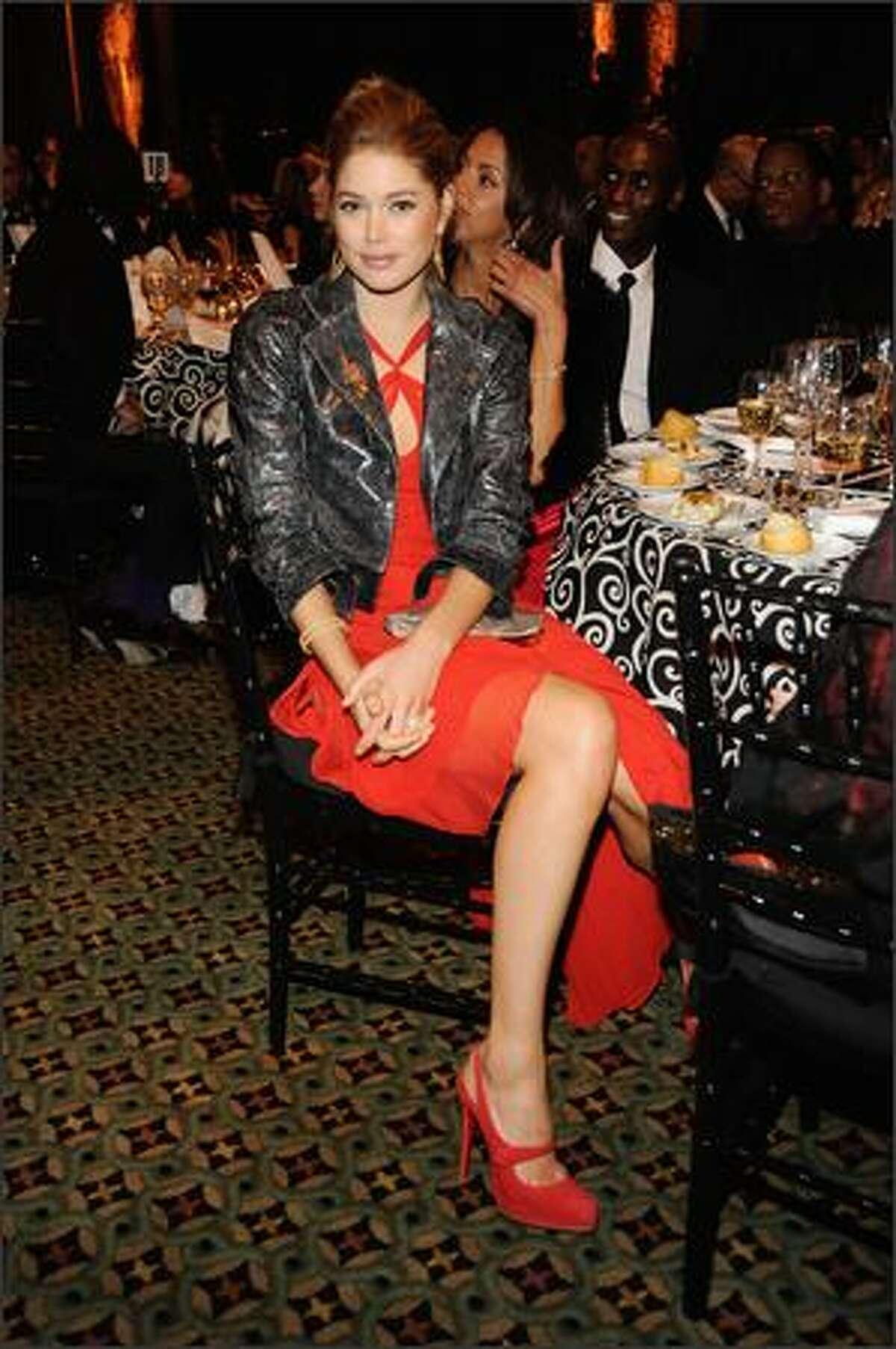 Model Doutzen Kroes attends.