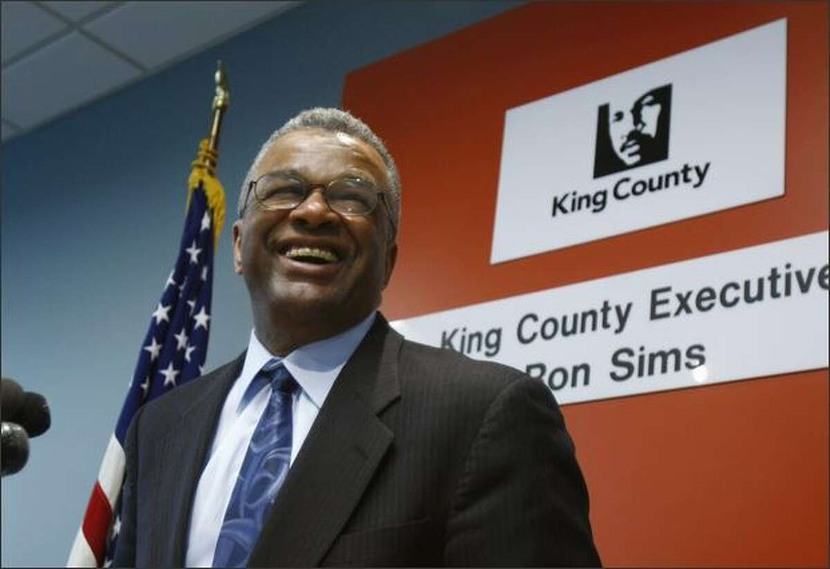 Ron Sims, ex-King County Executive and former HUD Undersecretary: