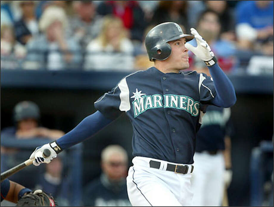 San Antonio's Greg Dobbs could one day replace Jeff Cirillo at third base for the Mariners. Photo: Scott Eklund, Seattle Post-Intelligencer