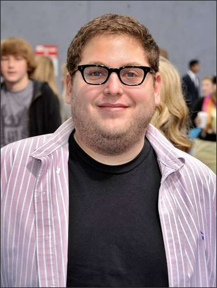 "Actor Jonah Hill arrives at the premiere of Dreamworks' ""Monsters vs. Aliens"" held at the Gibson Amphitheatre in Universal City, Calif. Photo: Getty Images"