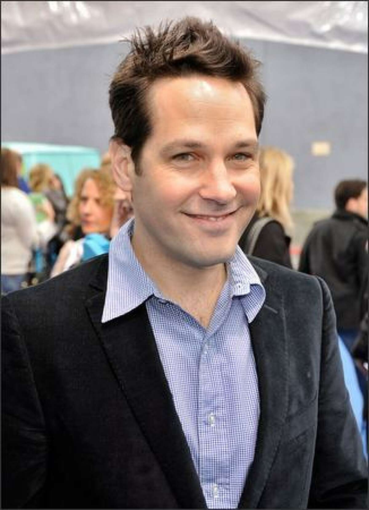 Actor Paul Rudd arrives at the premiere of Dreamworks'