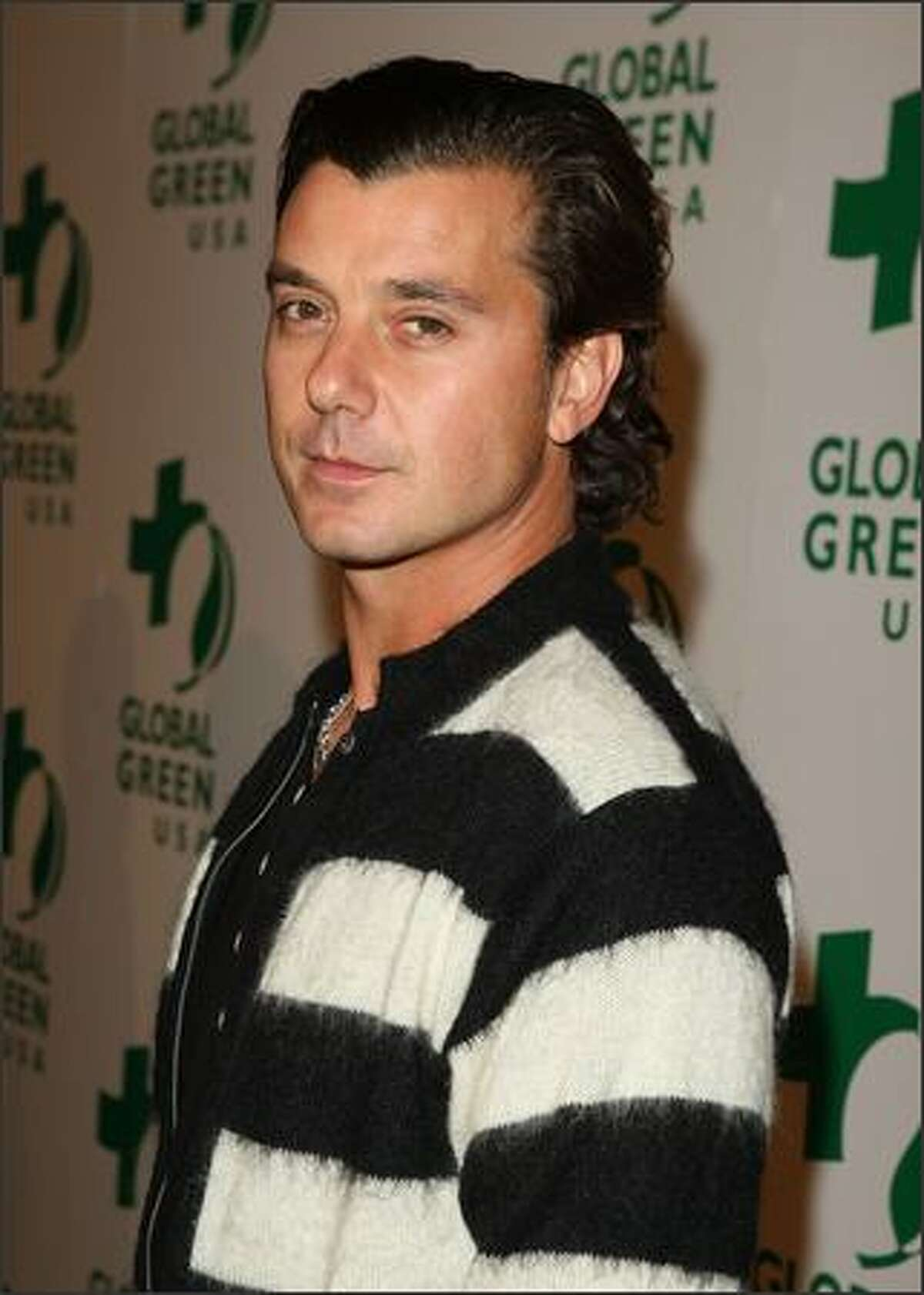 Musician Gavin Rossdale arrives at Global Green USA's 6th Annual Pre-Oscar Party held at Avalon Hollwood in Hollywood, California.
