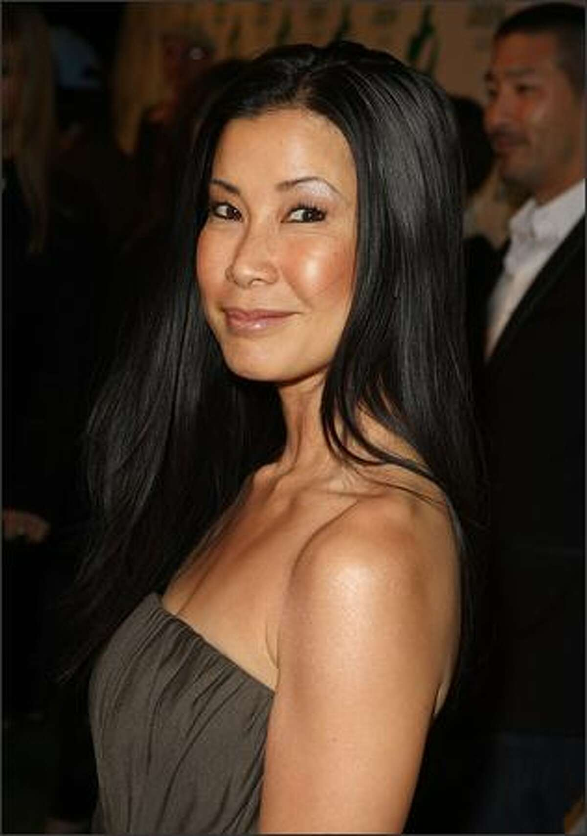 Correspondent Lisa Ling arrives at Global Green USA's 6th Annual Pre-Oscar Party held at Avalon Hollwood in Hollywood, California.