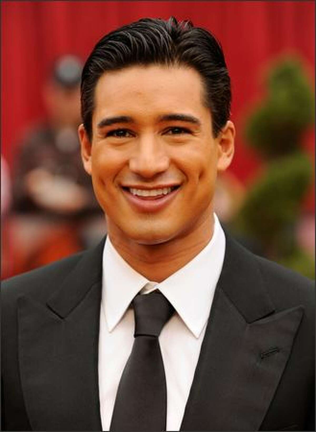 TV personality Mario Lopez arrives at the 81st Annual Academy Awards held at Kodak Theatre in Los Angeles, California.