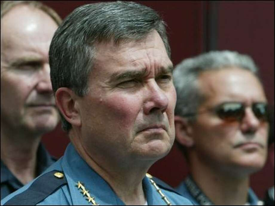 Seattle Police Chief Gil Kerlikowske has said little publicly in his career about drug policy. Photo: Paul Joseph Brown/Seattle Post-intelligencer File