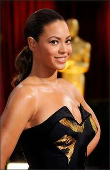 Singer/actress Beyonce Knowles arrives at the 81st Annual Academy Awards held at Kodak Theatre in Los Angeles, California. Photo: Getty Images