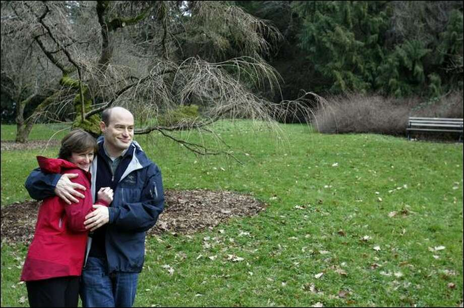 After dealing with his own health crisis, Keith Schorsch and wife, Jennifer, launched Trusera, a free online community whose users share hard-won wisdom. Photo: Meryl Schenker/Seattle Post-Intelligencer
