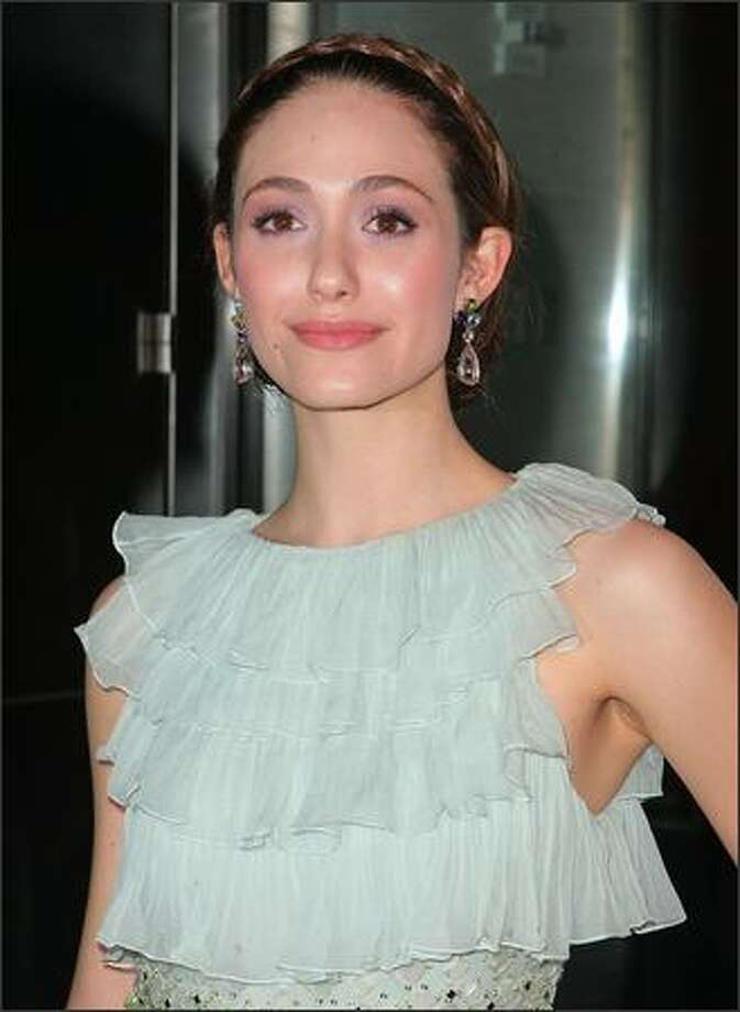 "Emmy Rossum attends the 6th Annual New Yorkers For Children Spring Dinner Dance ""New Year's in April: A Fool's Fete"" at the Mandarin Oriental in New York City. Photo: Getty Images"