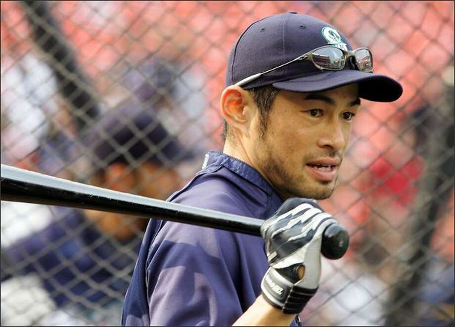 Jim Riggleman, the Mariners manager in the second half of the 2008 season and now the Washington Nationals bench coach, said there was  a disconnect between Ichiro Suzuki, the Mariners' All-Star right fielder, above, and some of his teammates. Photo: / Getty Images