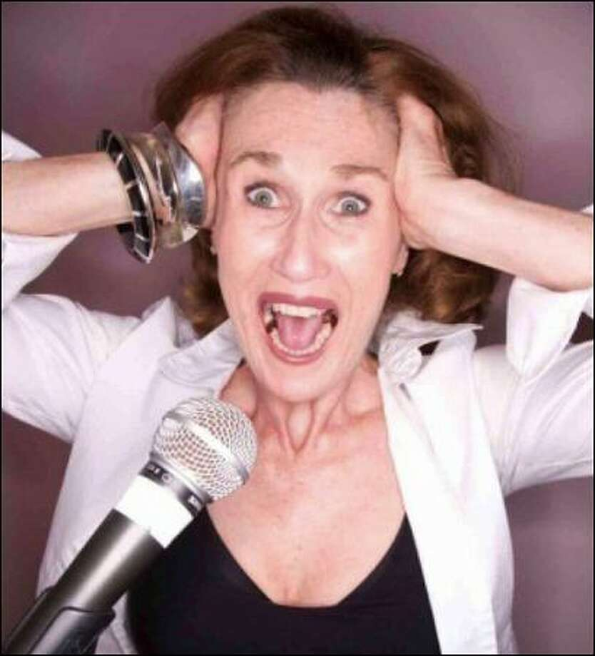 """Susan Carr's new DVD is """"The Art of Screaming."""""""