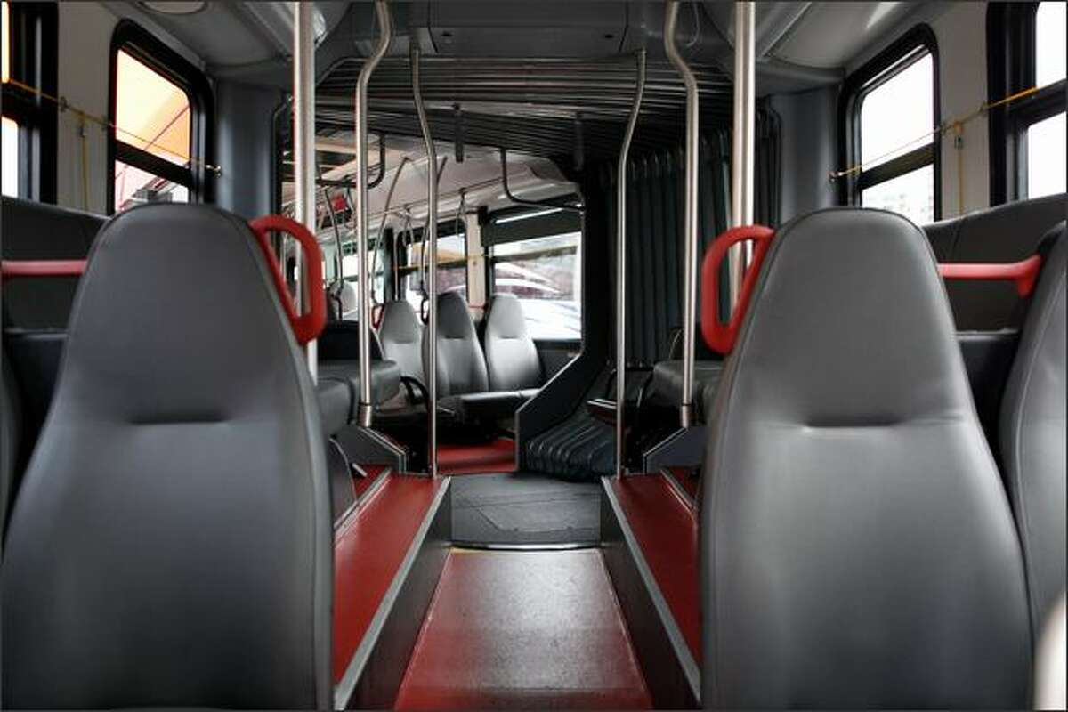 The RapidRide buses can seat 48 passengers.