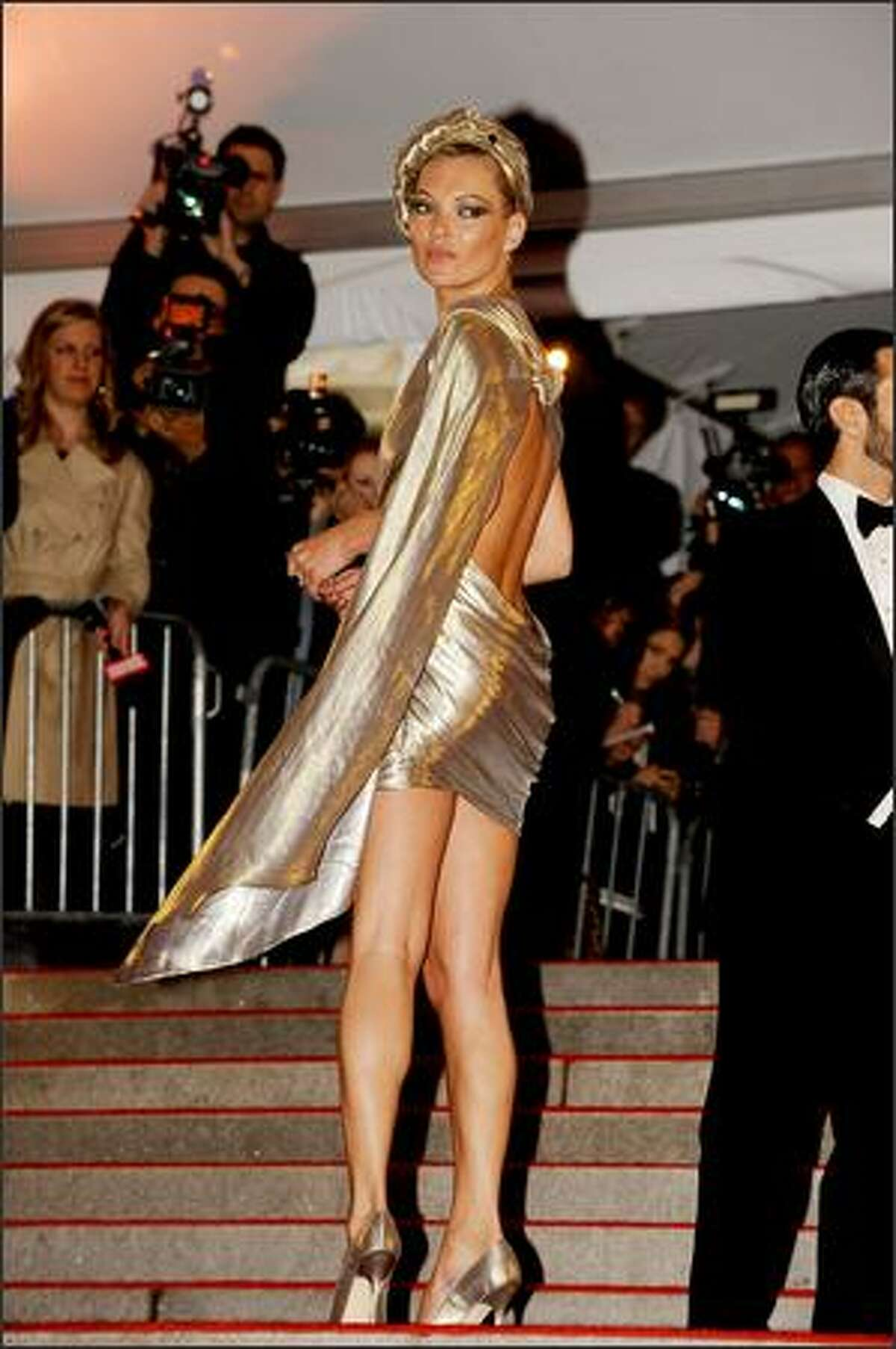 Model Kate Moss attends