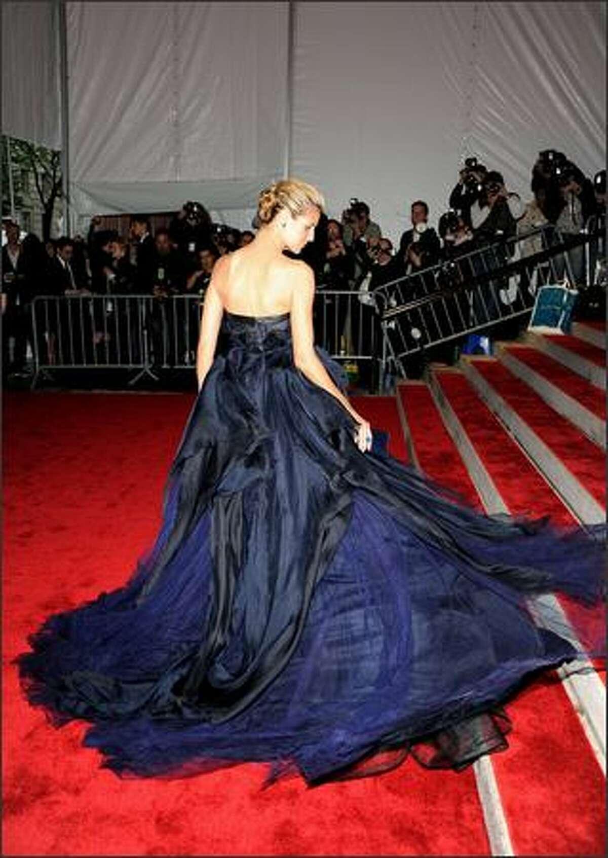 Model Heidi Klum attends