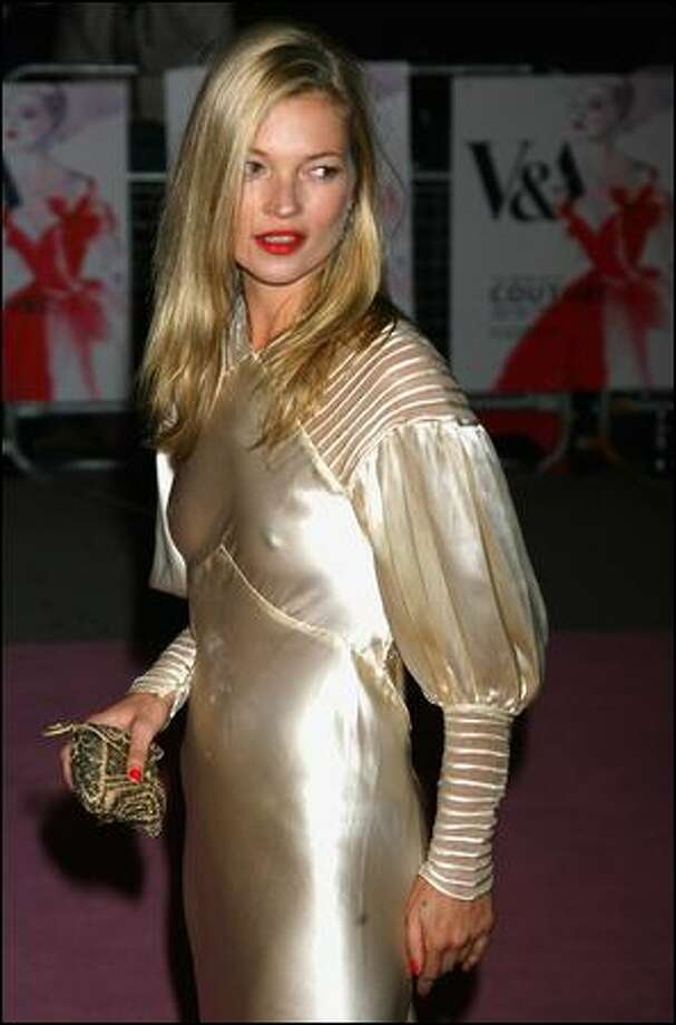 Kate Moss knows how to put together great looks with vintage pieces, says David Silver, owner of Decades, an L.A. store specializing in 20th-century vintage clothing. Photo: Chris Jackson/getty Images