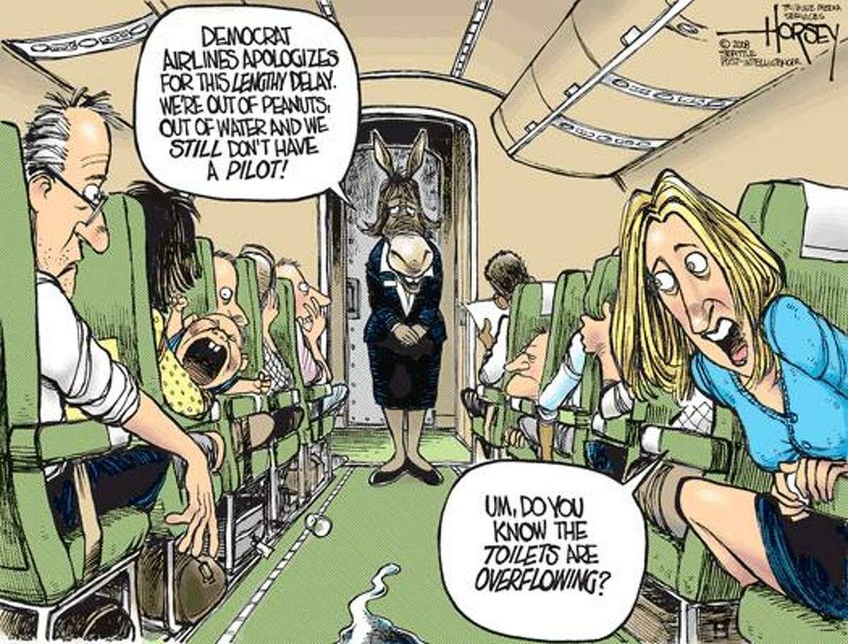 Democrats free fall continues