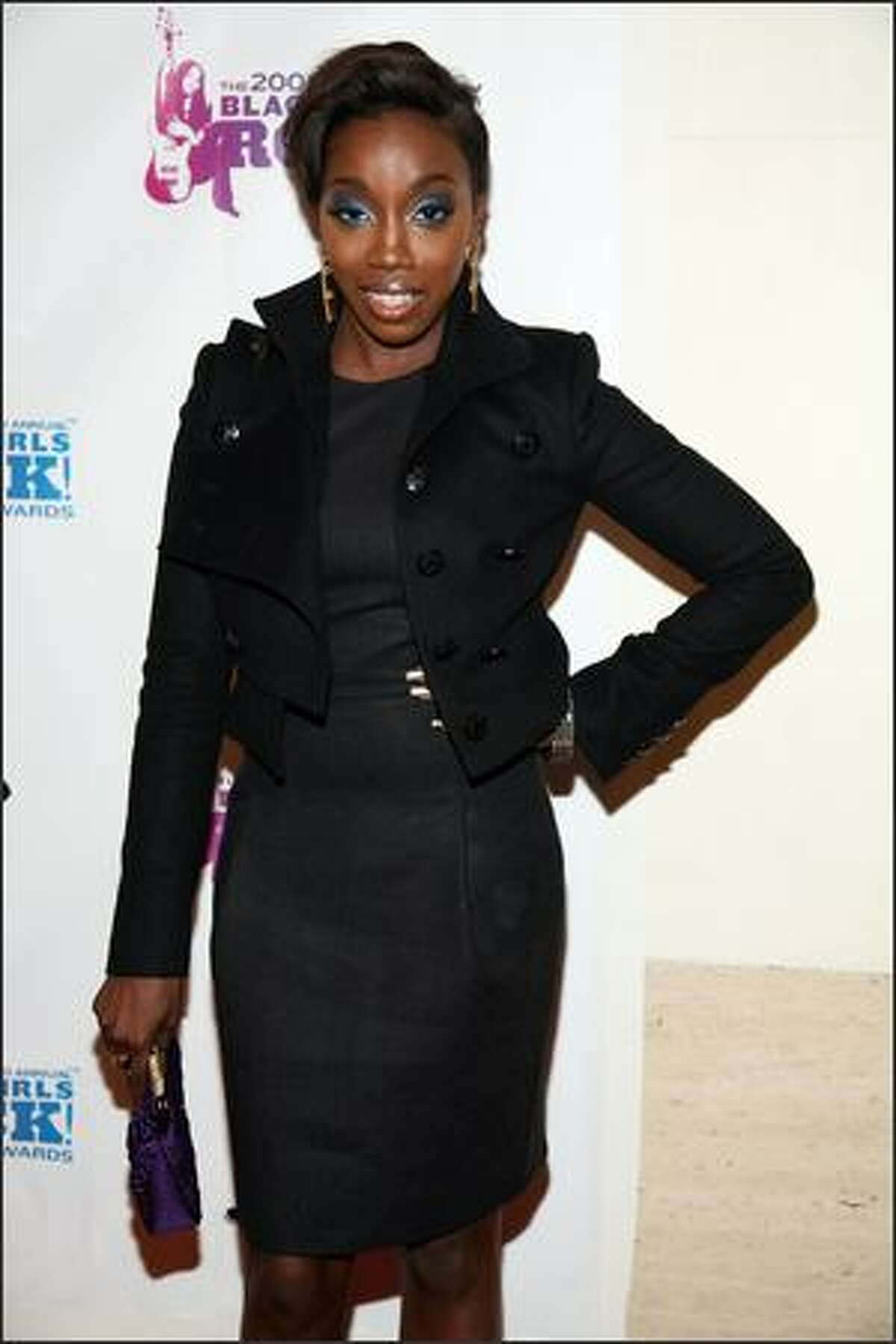 Singer Estelle attends the 3rd Annual Black Girls Rock! Awards at Jazz at Lincoln Center on Sunday in New York City.