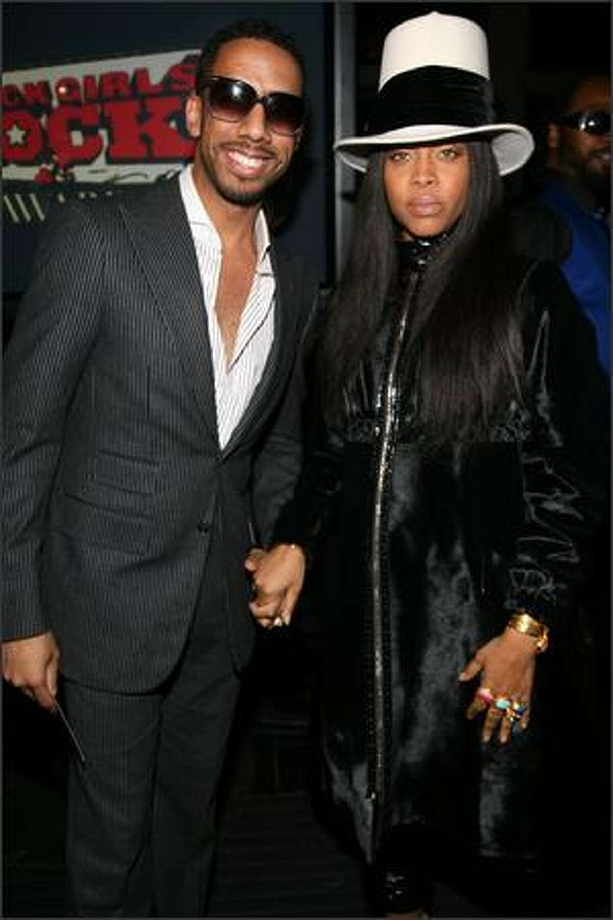 Singers Ryan Leslie and Erykah Badu attends the 3rd Annual Black Girls Rock! Awards at Jazz at Lincoln Center on Sunday in New York City.