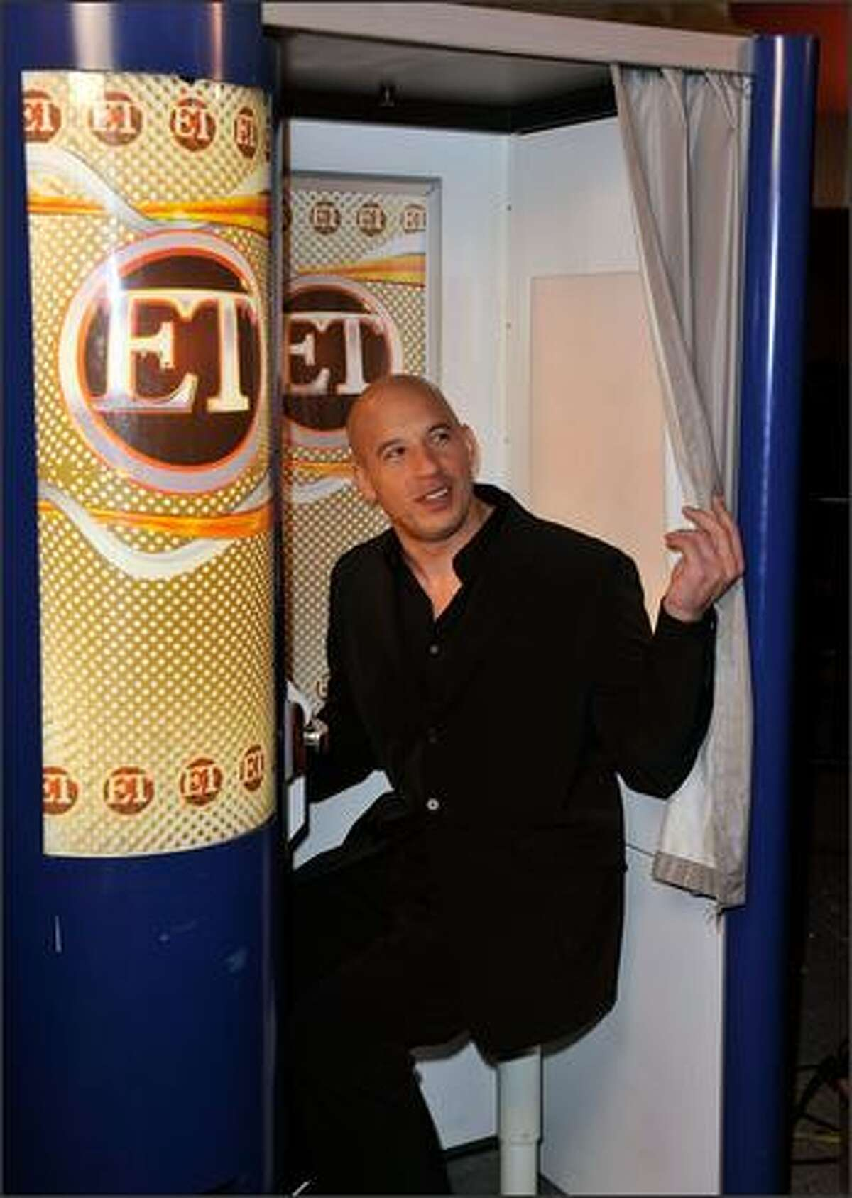 Actor Vin Diesel arrives at the premiere of