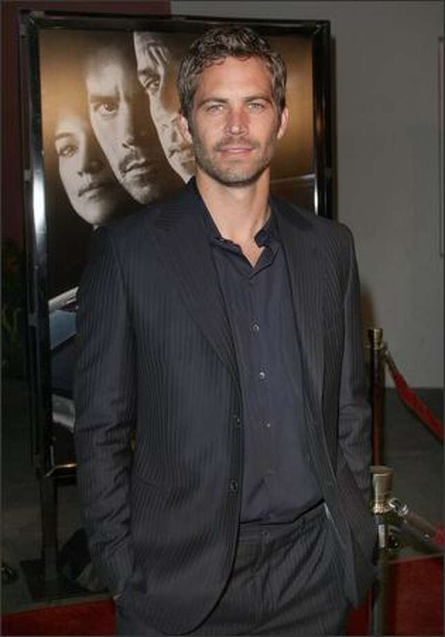 Actor Paul Walker arrives. Photo: Getty Images