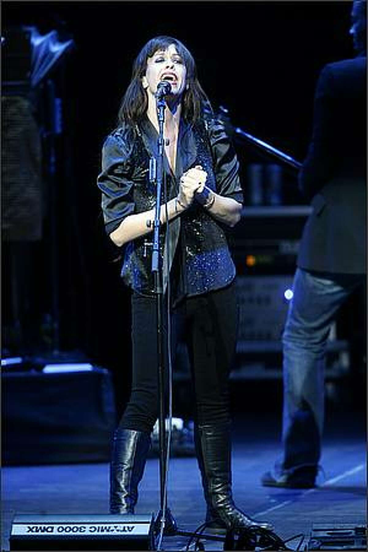 Alanis Morissette plays the Paramount Theater.