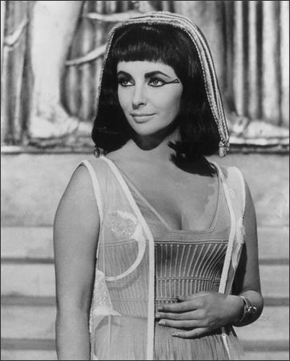 """""""Historical Hotties"""": Cleopatra, queen of Egypt in the 1st century B.C. This is an automatic; a lot of top-name actresses played the temptress, but Elizabeth Taylor lives most vivid in the memory."""
