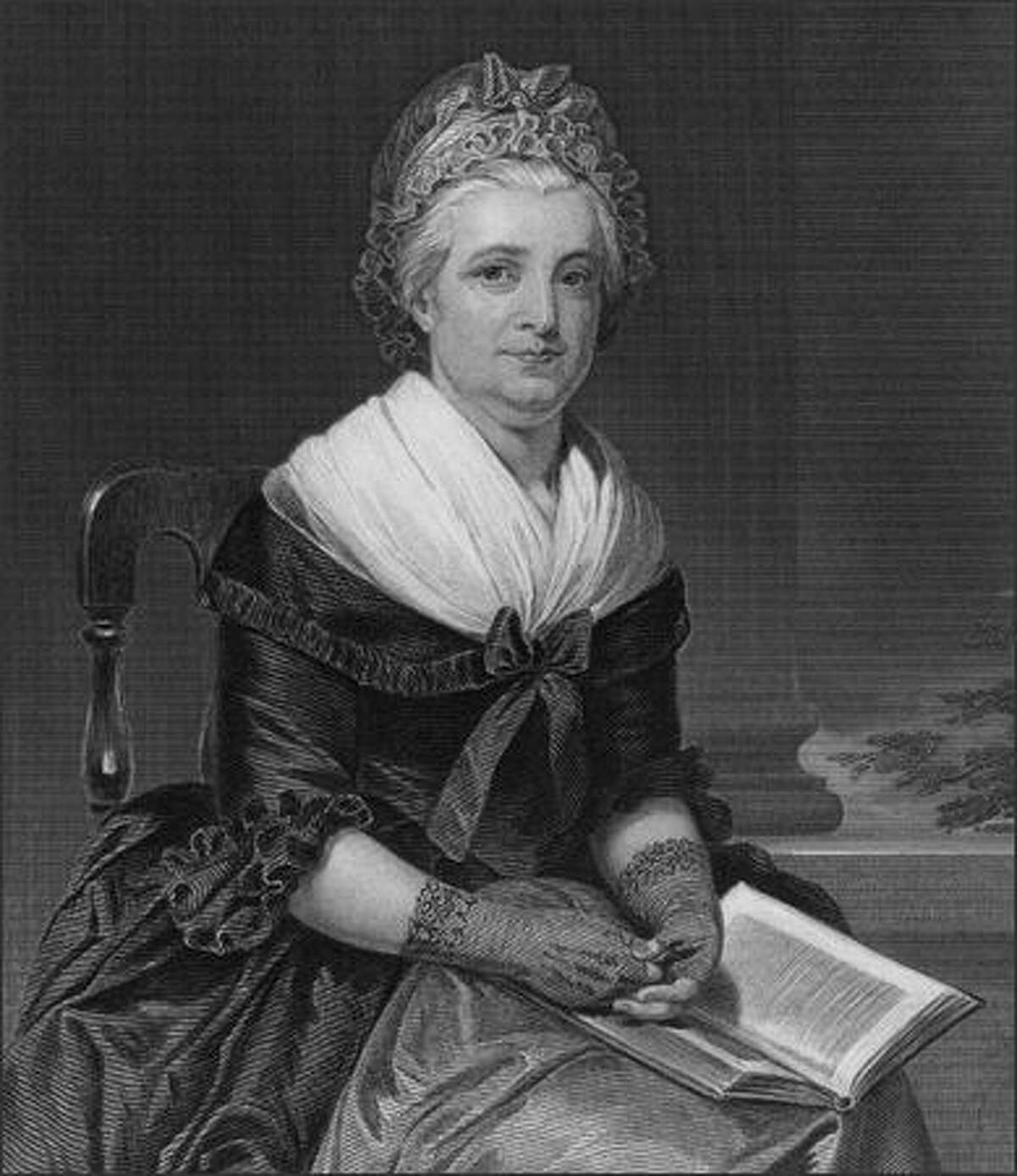 """""""Historical Hotties"""": People found images depicting some famous people from past centuries. We don't have access to the same images, so we'll do the best we can. Martha Washington (1732 - 1802), wife of George Washington, was presented as a 27-year-old. She's a bit older here."""