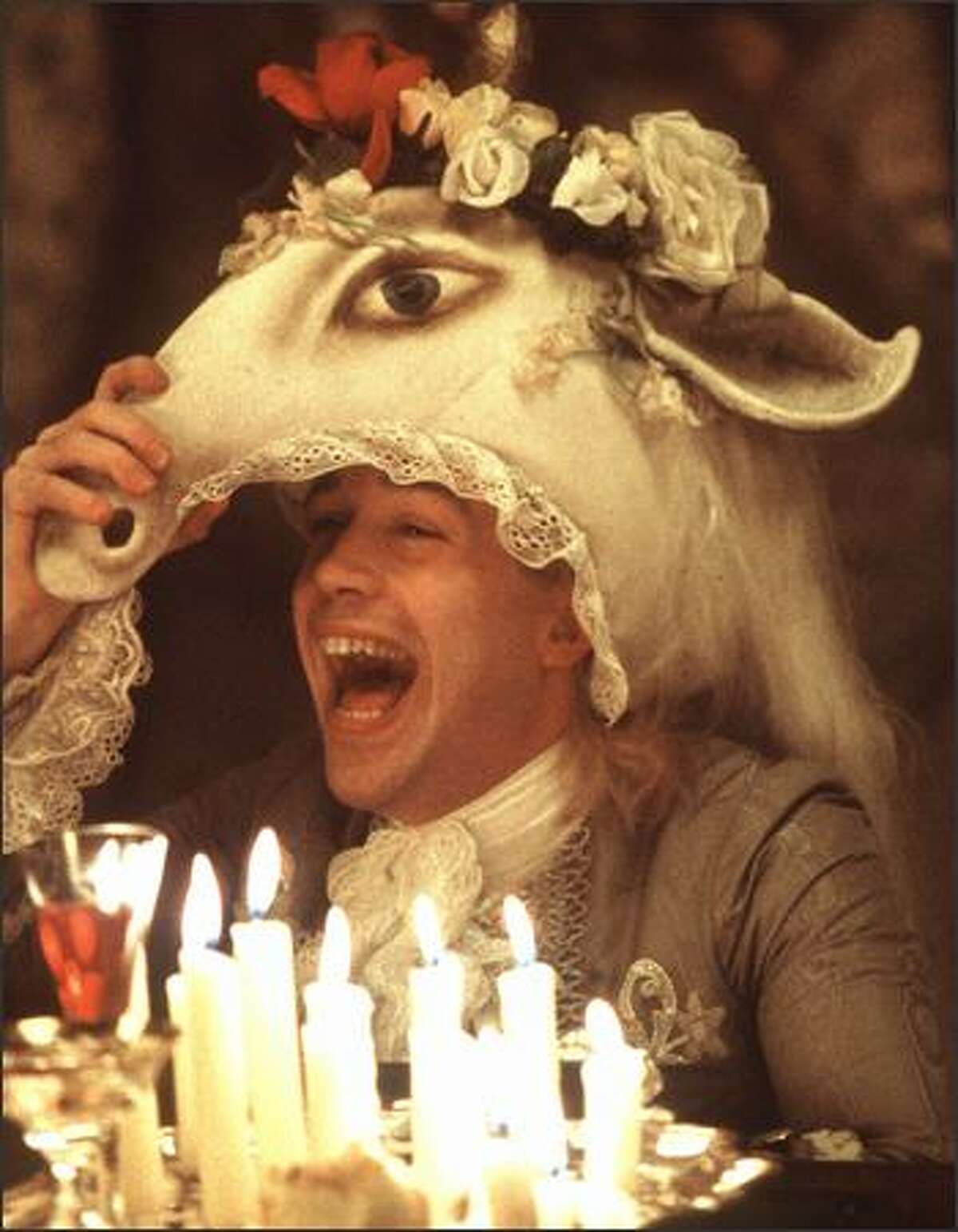 """""""Historical Hotties"""": Wolfgang Amadeus Mozart, the famed 18th century composer. We tried to find a photo of Austrian rock star Falco, who wrote and performed the hit """"Rock Me Amadeus"""" in 1986, but had to settle for actor Tom Hulce playing the title role in the Oscar-winning film """"Amadeus."""""""
