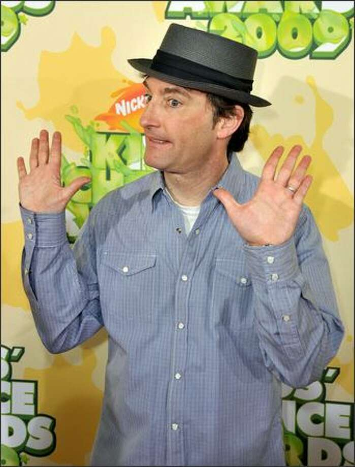 Actor Tom Kenny arrives at Nickelodeon's 2009 Kids' Choice Awards at UCLA's Pauley Pavilion in Westwood, Calif., on Saturday, March 28, 2009. Photo: Getty Images