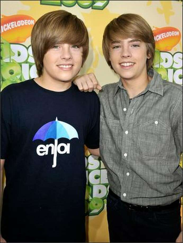 Dylan and Cole SprouseCollege: New York University  Year: Seniors  These twin brothers first rose to fame in the Adam Sandler film Big Daddy. They've since starred in the Disney Channel's The Suite Life of Zack & Cody. The twins are seniors at NYU. Photo: Getty Images