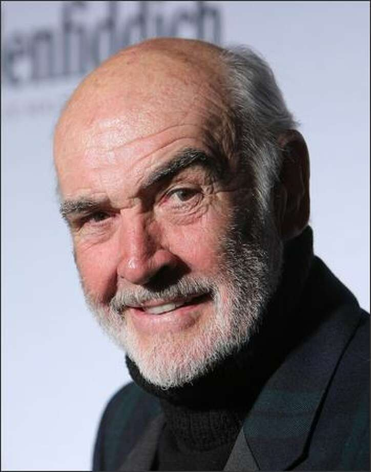 "Sir Sean Connery hosts and attends the ""Dressed To Kilt"" charity fashion show benefiting Friends of Scotland at M2 Lounge in New York City. Photo: Getty Images"