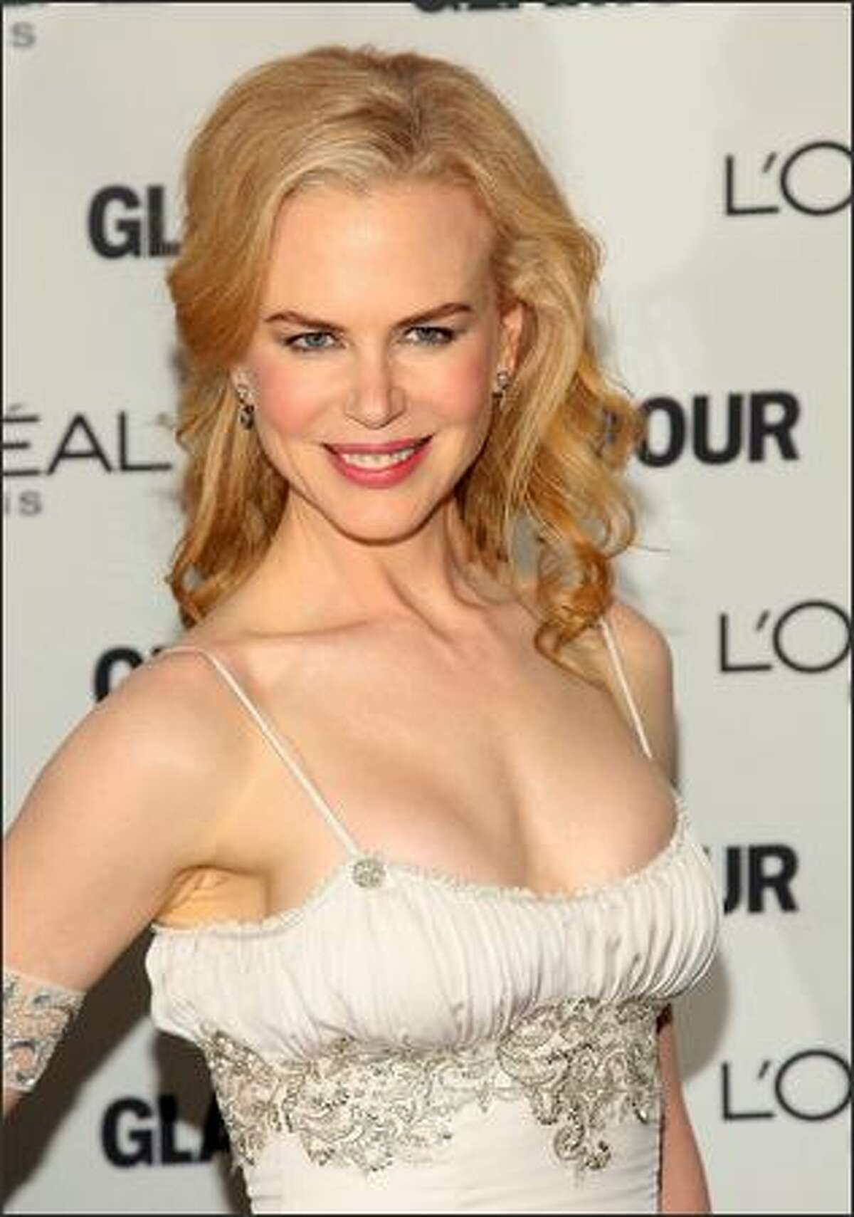 Actress Nicole Kidman attends the 2008 Glamour Women of the Year Awards at Carnegie Hall in New York City.