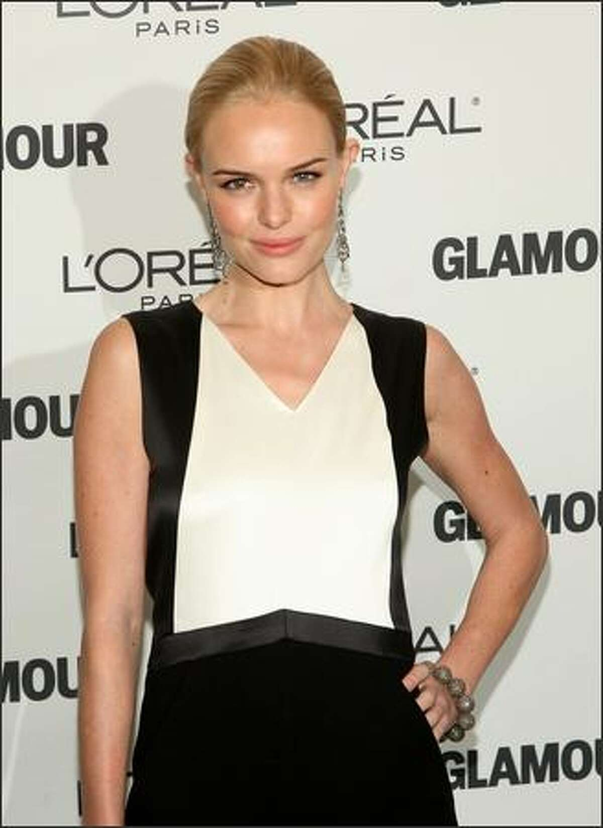 Actress Kate Bosworth attends the 2008 Glamour Women of the Year Awards at Carnegie Hall in New York City.