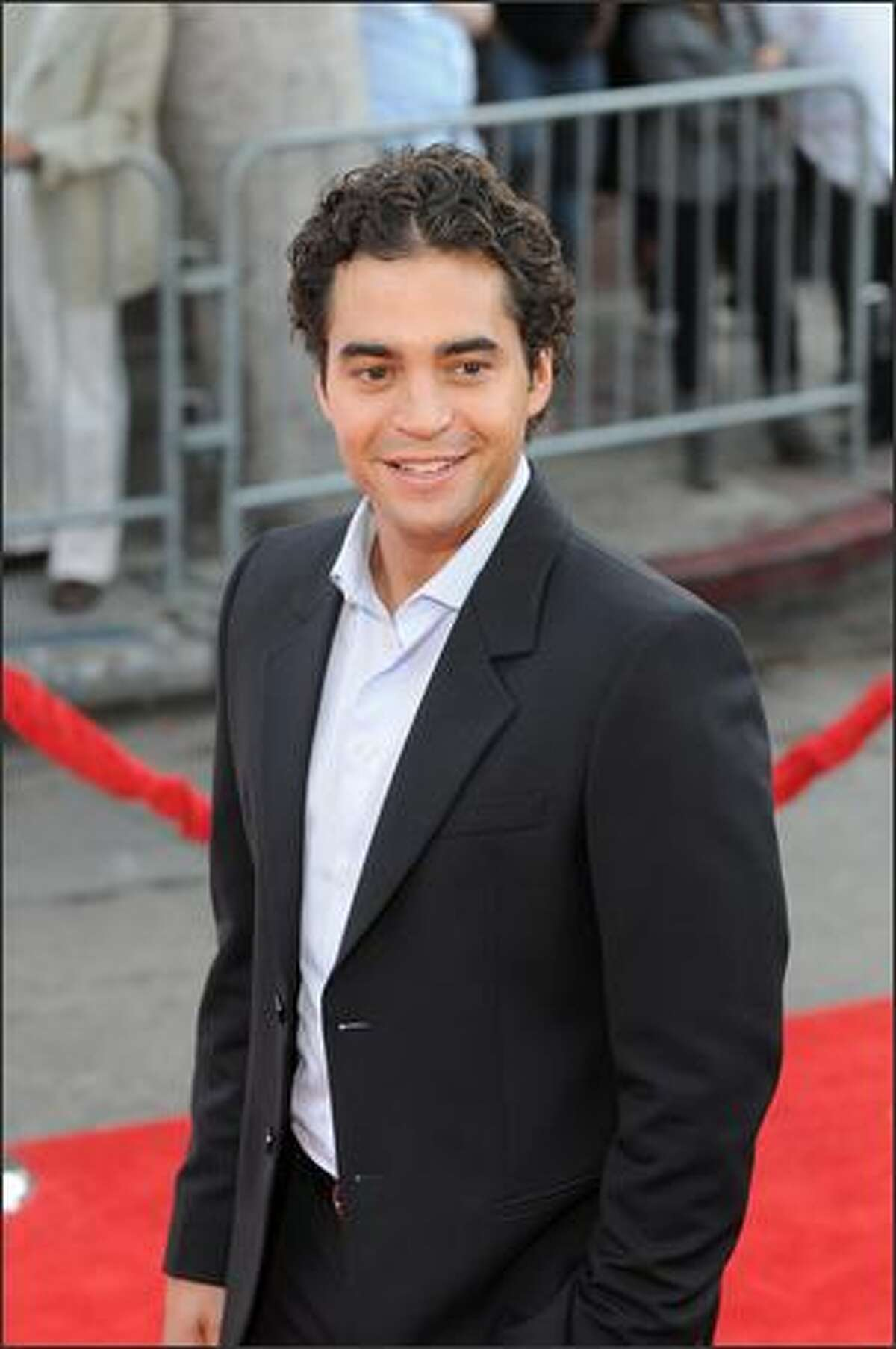 Cast member Ramon Rodriguez arrives.