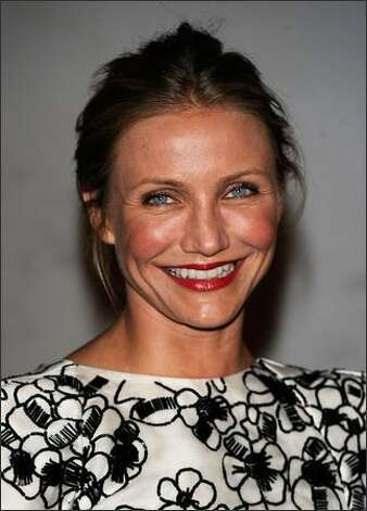 Actress Cameron Diaz arrives. Photo: Getty Images