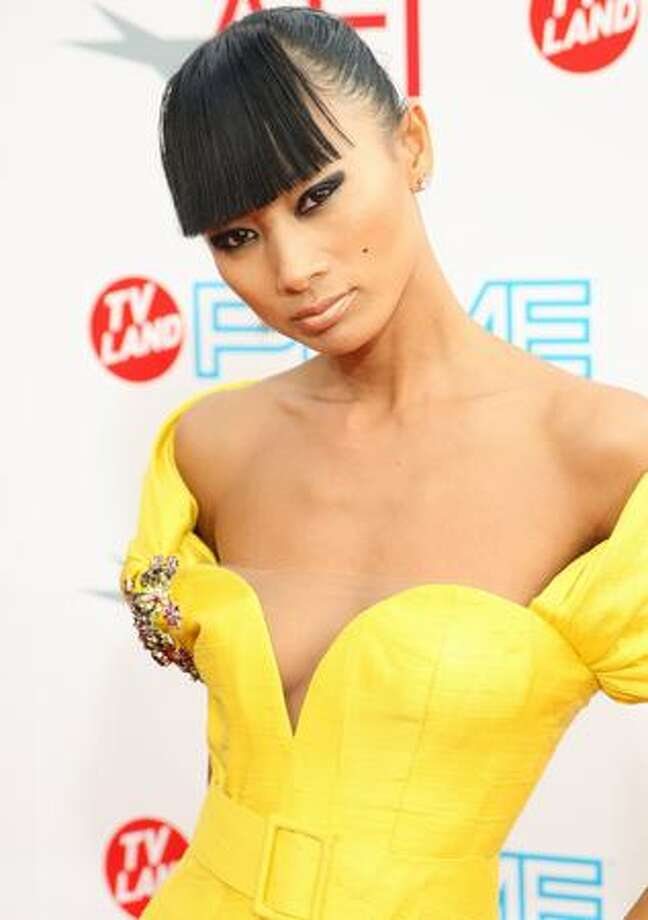 Actress Bai Ling arrives. Photo: Getty Images