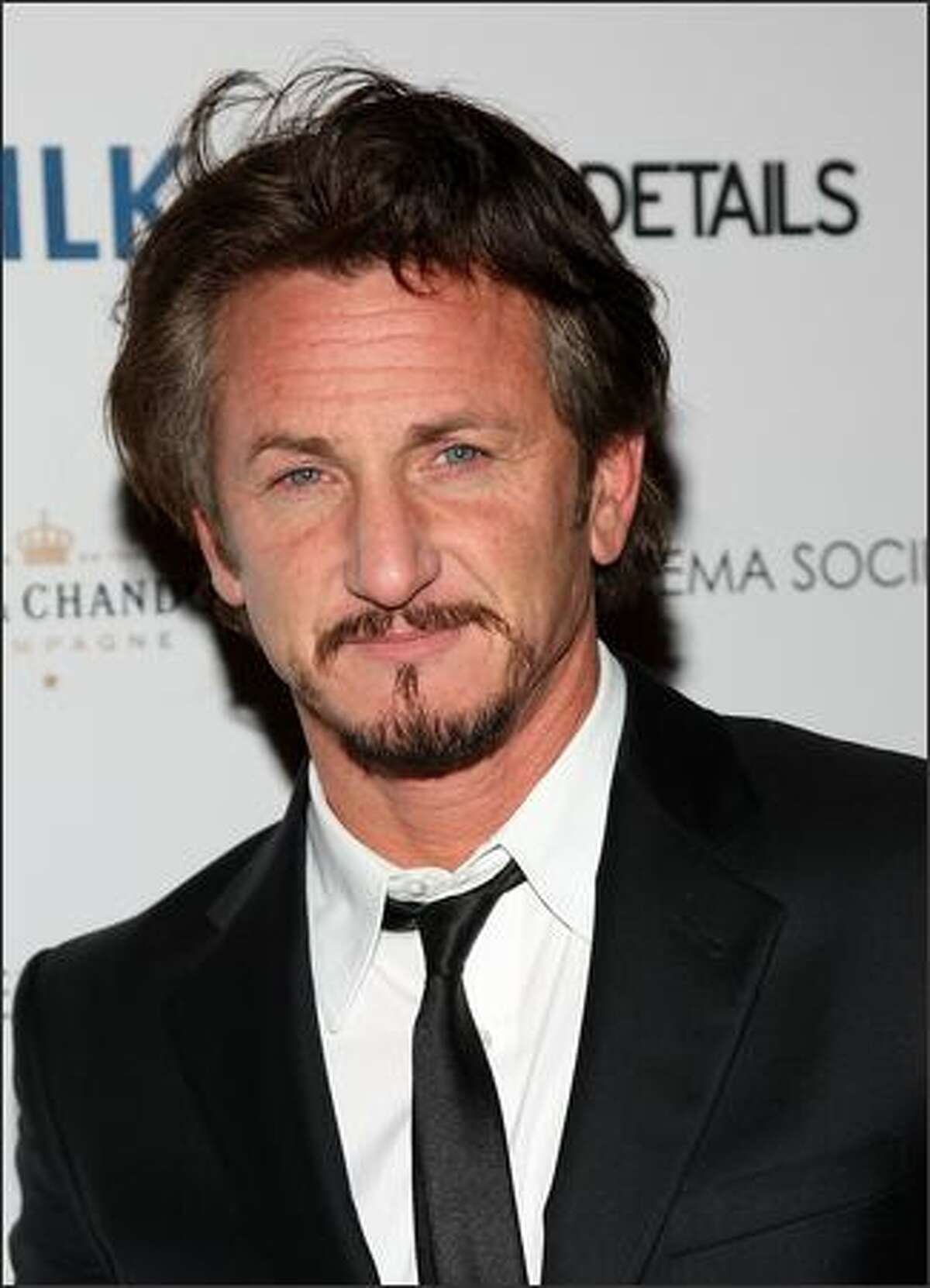 Actor Sean Penn attends a special screening of