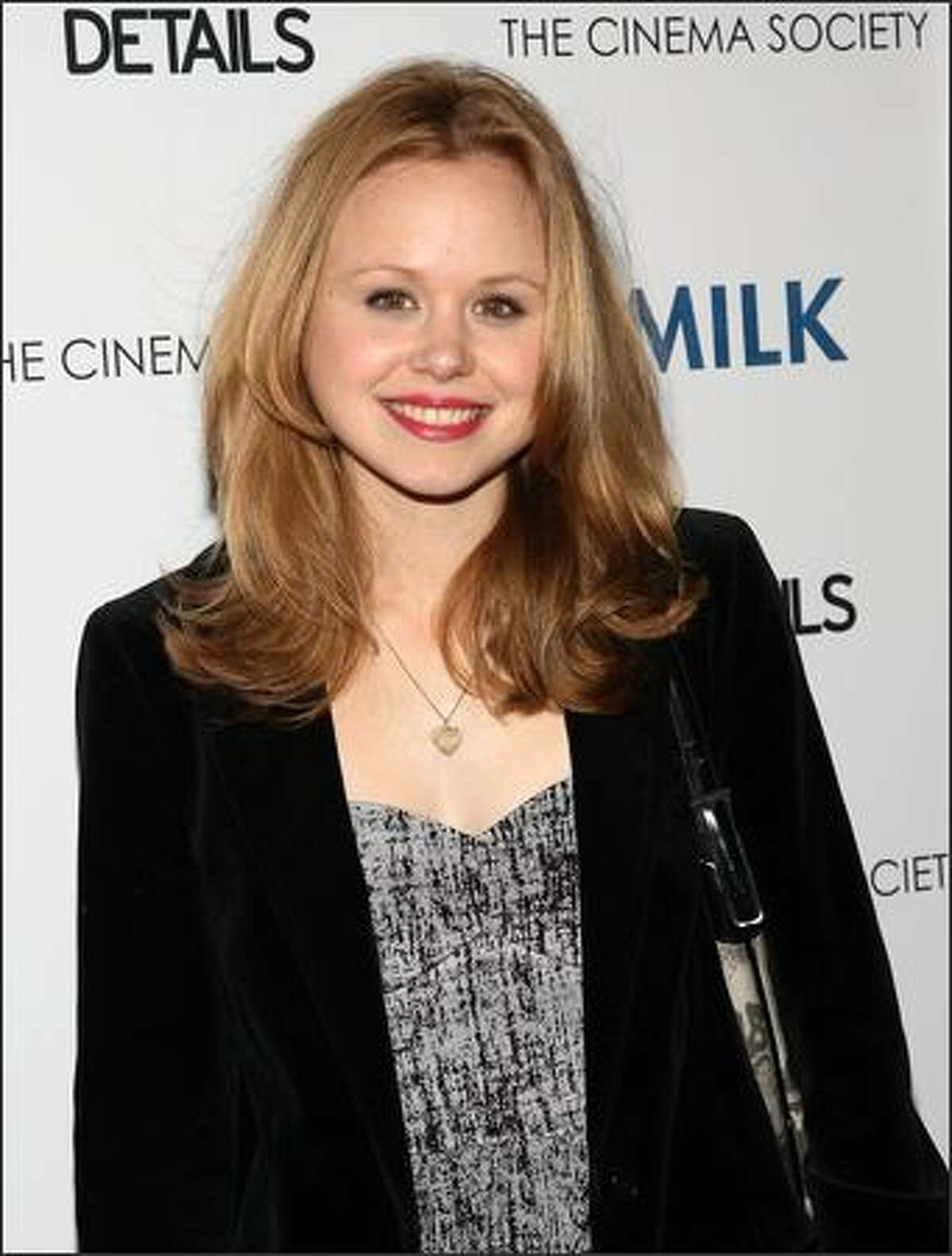 Actress Alison Pill attends a special screening of