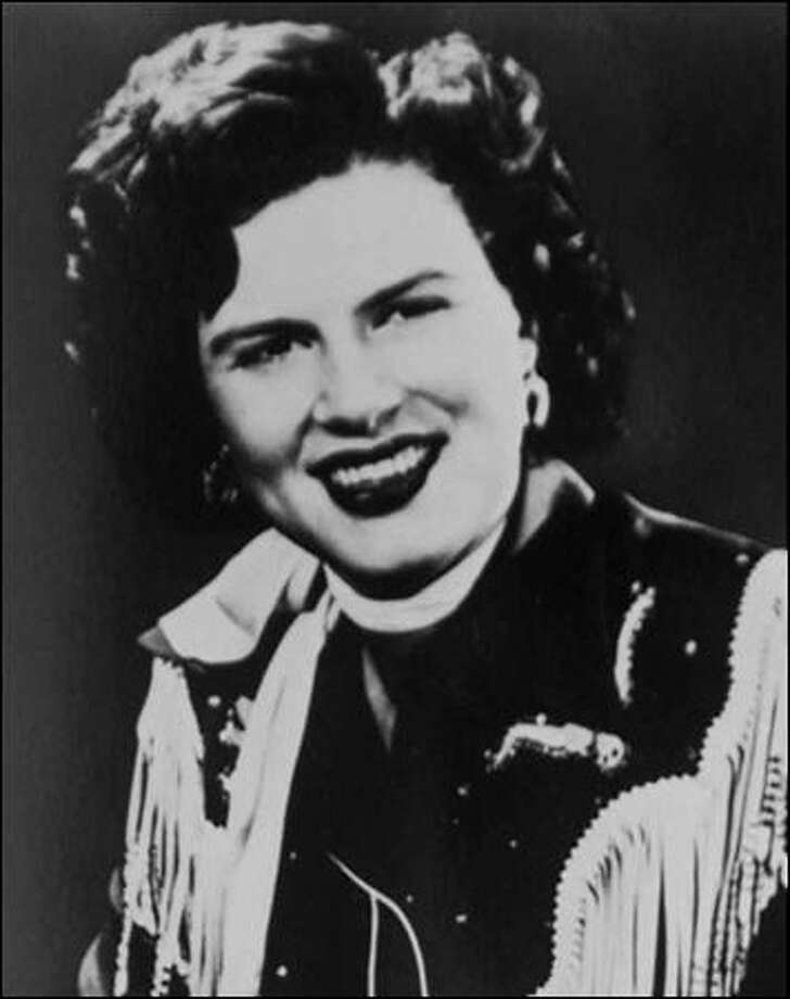 Country singer Patsy Cline. Photo: Associated Press