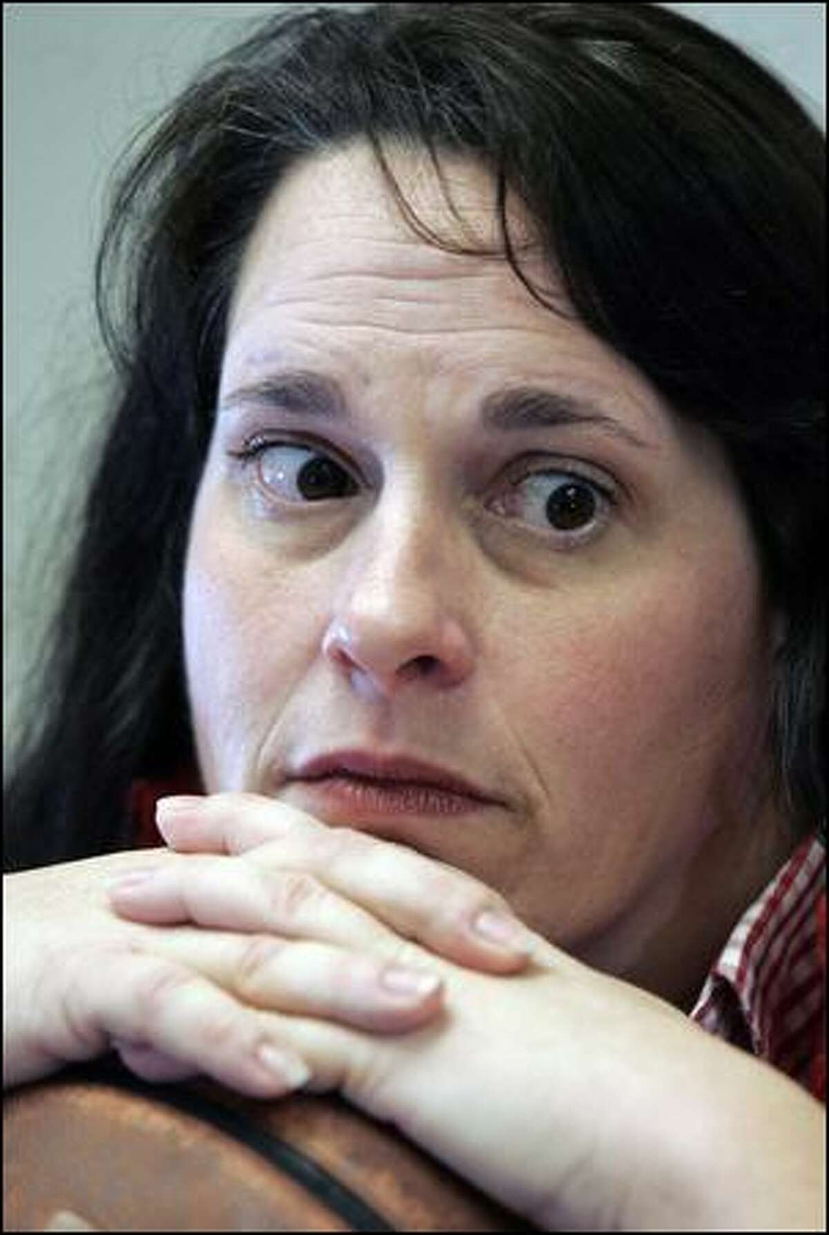 Ex-teacher Terra Solkey says she was retaliated against for raising concerns.