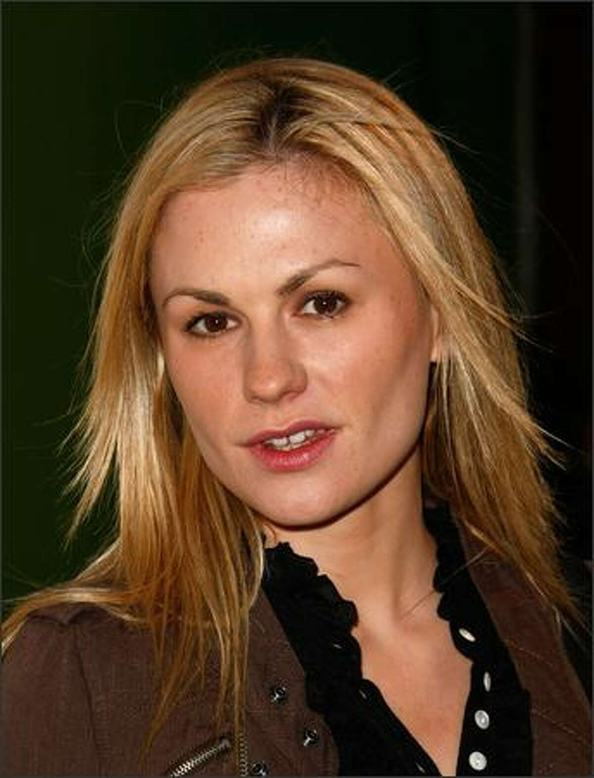 Actress Anna Paquin arrives for the launch of Loomstate For Target Collection at the Big Red Sun in Venice, California.