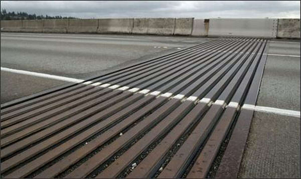The large expansion joints on each end of the bridge need to be replaced.