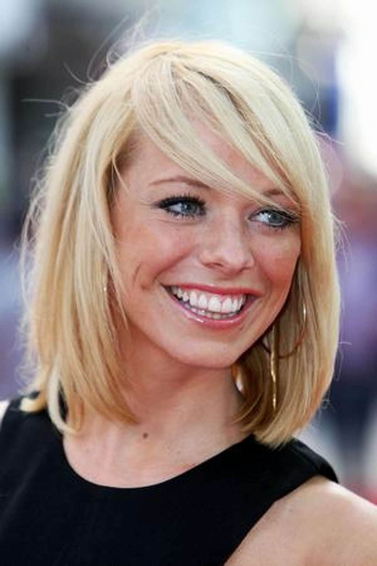 Singer Liz McClarnon attends the UK film premiere of