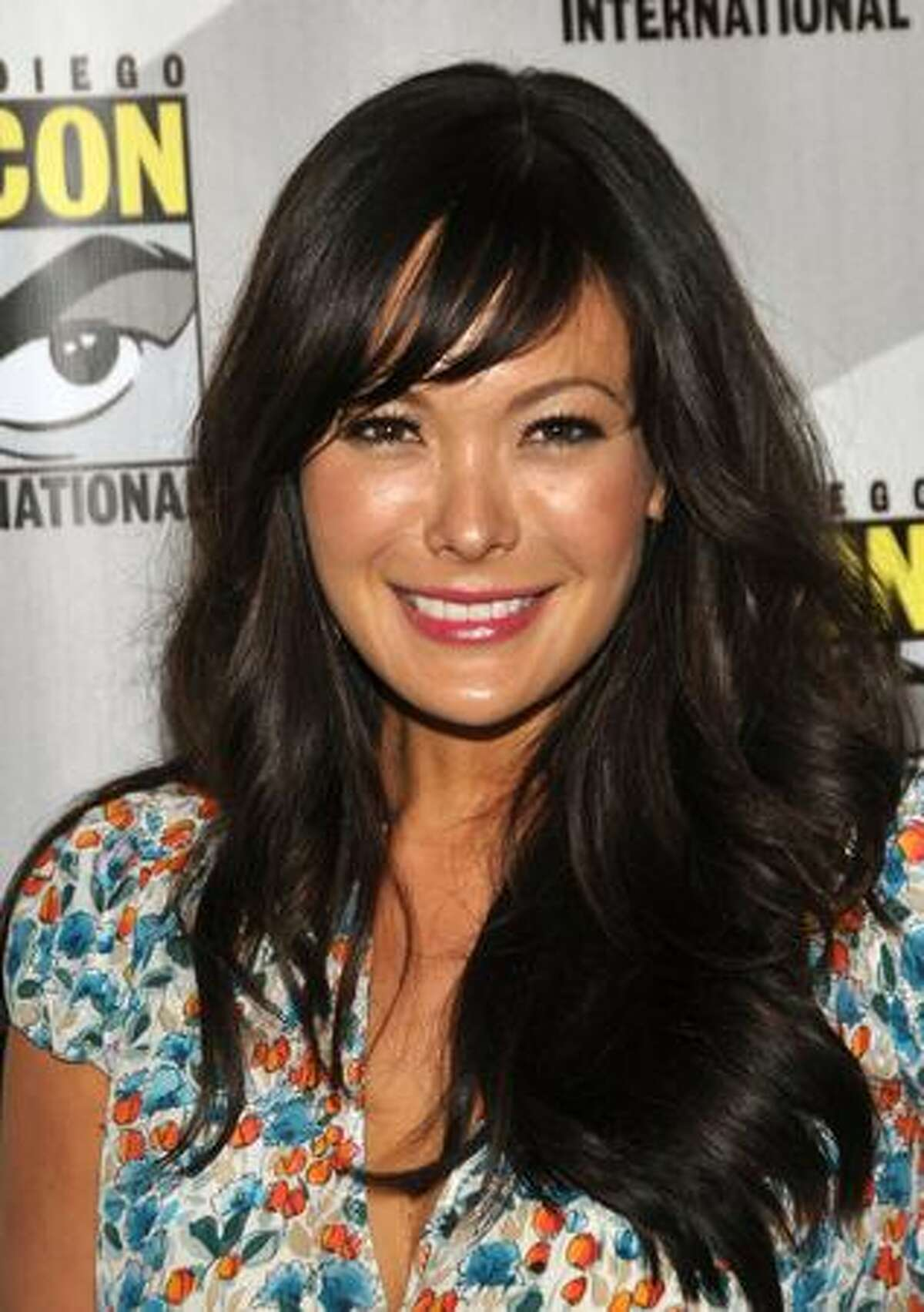 """SAN DIEGO - JULY 25: Actress Lindsay Price attends the """"Eastwick""""pilot screening at Comic-Con 2009 held at San Diego Convention Center on July 25, 2009 in San Diego, California."""